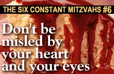 6 Constant Mitzvot: #6 - Don't Be Misled By Your Heart and Eyes